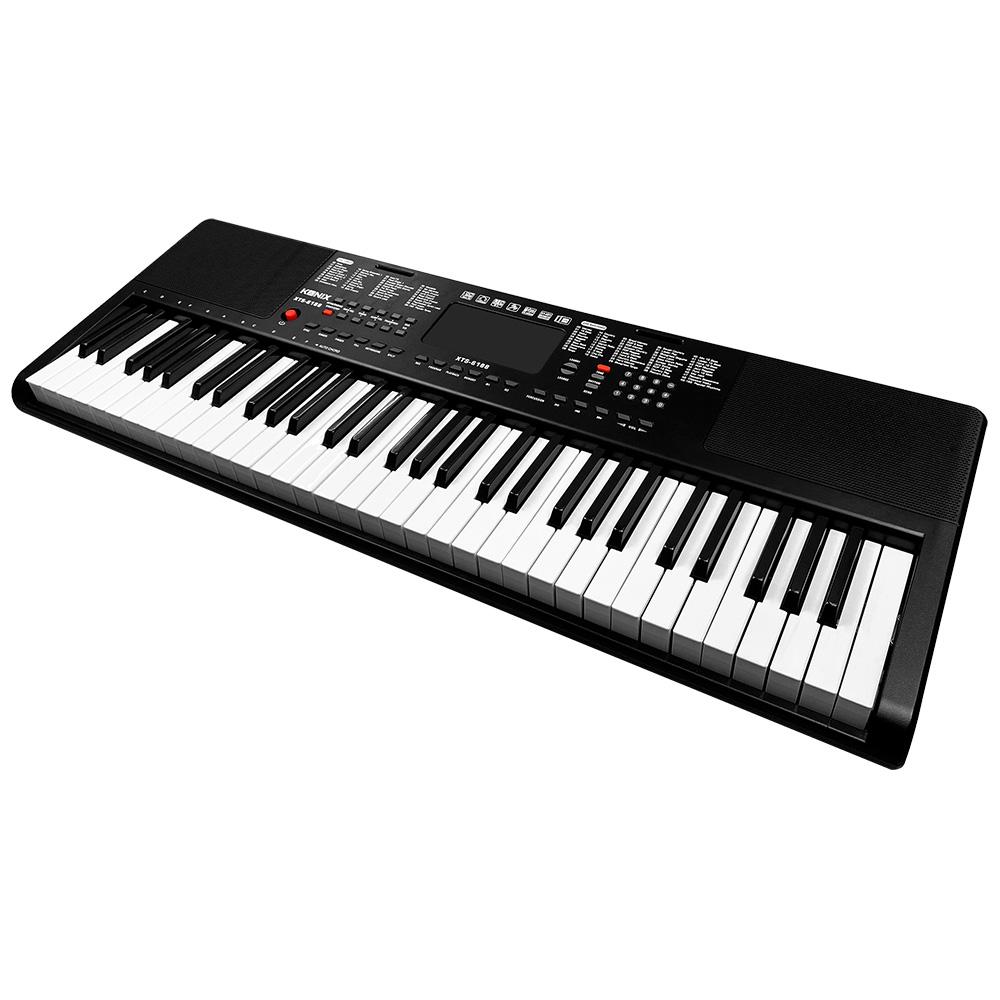 KONIX 61鍵多媒體音樂電子琴 攜帶式電子鋼琴